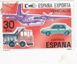 Sellos de Europa - España -  España exporta vehículos (20)