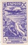 Stamps Spain -  sello orfanato (20)