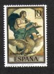 Sellos de Europa - España -  El Evangelista Sn. Juan (Eduardo Rosales y Martín)