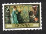 Sellos de Europa - España -  Los Primeros Pasos (Eduardo Rosales y Martín)