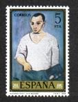 Stamps Spain -  Autoretrato (Pablo Ruis Picasso)