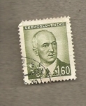 Sellos de Europa - Checoslovaquia -  Presidente Benes