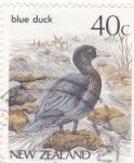 Sellos del Mundo : Oceania : Nueva_Zelanda :  pato azul