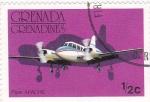 Stamps Grenada -  bimotor apache