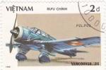 Sellos de Asia - Vietnam -  avión PZL.P23