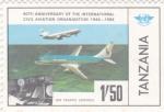 Sellos de Africa - Tanzania -  control tráfico aéreo