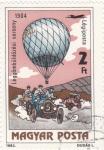 Stamps Hungary -  globo aerostático