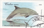 Stamps Cuba -  fauna del Caribe