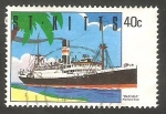 Stamps America - San Cristóbal Island -  717 - Barco Inanda