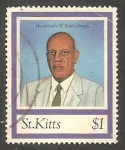 Stamps America - San Cristóbal Island -  807 - William Demas, 20 anivº de CARICOM