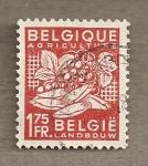 Stamps Belgium -  Agricultura