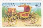 Stamps Cuba -  carruaje antiguo