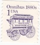 Sellos de America - Estados Unidos -  omnibus