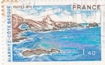 Sellos de Europa - Francia -  Biarriz-costa vasca