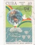 Sellos de America - Cuba -  protección del medio ambiente