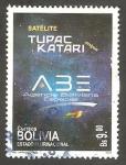 Stamps Bolivia -  Agencia boliviana espacial