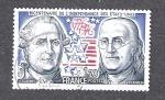 Sellos de Europa - Francia -  Bicentenario de los Estados Unidos