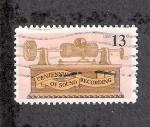 Stamps United States -  Centenario de la grabación del sonido