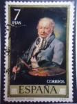 Stamps Spain -  Ed;2151 - Goya - Pintura de Vicente López