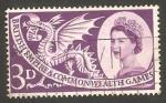 Stamps United Kingdom -  312 - VI Juegos de la Commonwealth