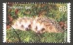 Sellos de Europa - Alemania -  Fauna animal, erizos