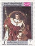 Stamps Yemen -  coronación de Napoleón