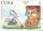 Stamps Cuba -  exposición filatélica