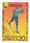 Sellos de Asia - Mongolia -  juegos olímpicos invierno Lake Placid