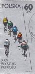 Sellos de Europa - Polonia -  carrera ciclista