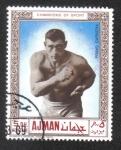 Sellos de Asia - Emiratos Árabes Unidos -  Ajman, Primo