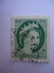 Stamps Canada -  Elizabeth II