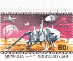 Sellos de Asia - Mongolia -  aeronáutica- Viking-1