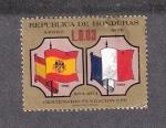 Sellos de America - Honduras -  Centenario de la Unión Postal Universal