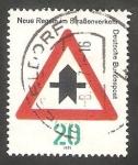 Sellos de Europa - Alemania -  529 - Señal de tráfico