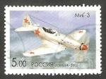 Sellos de Europa - Rusia -  6893 - Avión Mig 3