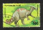 Sellos del Mundo : Asia : Tayikistán : Animales Prehistoricos