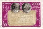 Stamps Romania -  2000 años de existencia...