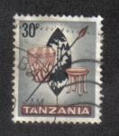 Sellos de Africa - Tanzania -  Artesanía Nativa