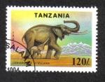 Sellos de Africa - Tanzania -  Especies en peligro de extinción