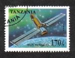 Sellos de Africa - Tanzania -  Exploración del Espacio