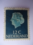 Stamps Netherlands -  Reina Juliana.
