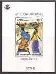 Stamps of the world : Spain :  arte contemporaneo