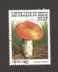 Stamps Benin -  Russula virescens