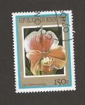 Stamps Benin -  Cyprepedium paeony