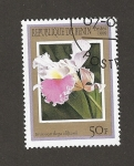 Stamps Benin -  Brassocattleya cliftonii