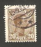 Sellos de Europa - Dinamarca -  137 - Christian X