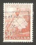 Sellos de Europa - Dinamarca -   377 - Centº de la Escuela veterinaria y agricultura