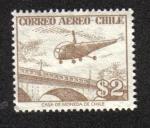 Sellos de America - Chile -  Correo Aéreo