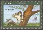 Stamps Cuba -  AVES  INDÌGENAS.  GLAUCIDIUM  SIJU.