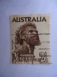 Stamps Australia -  Aborigen